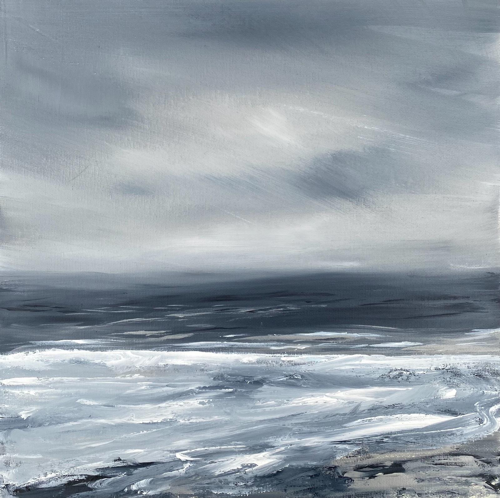 Monochrome seascape