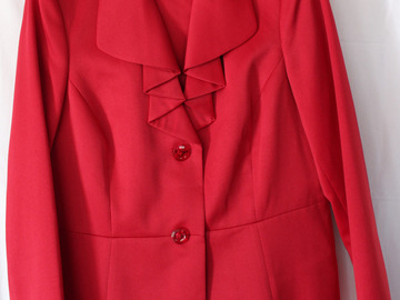 Sell: Ruby Red Le Suit (size 16)