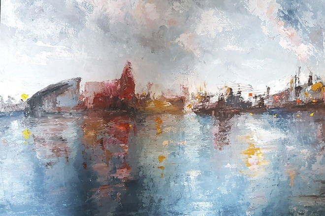Selling: Cardiff Bay - composition no.1