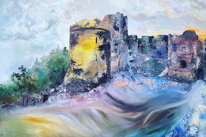 Selling: Chepstow Castle Composition no.5