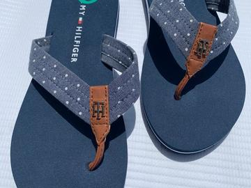 Sell: Tommy Hilfiger Slippers (size 8)