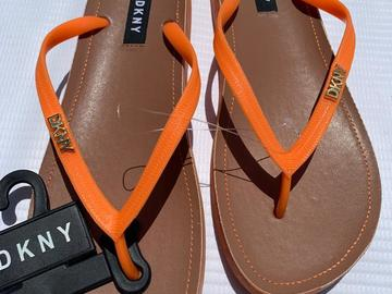 DKNY Slippers (size 8.5)