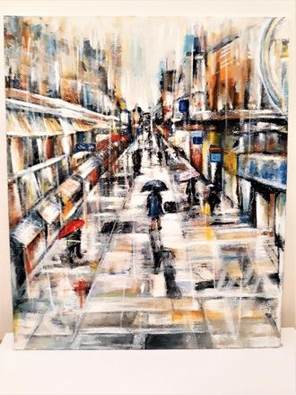 Selling: Street in the Rain