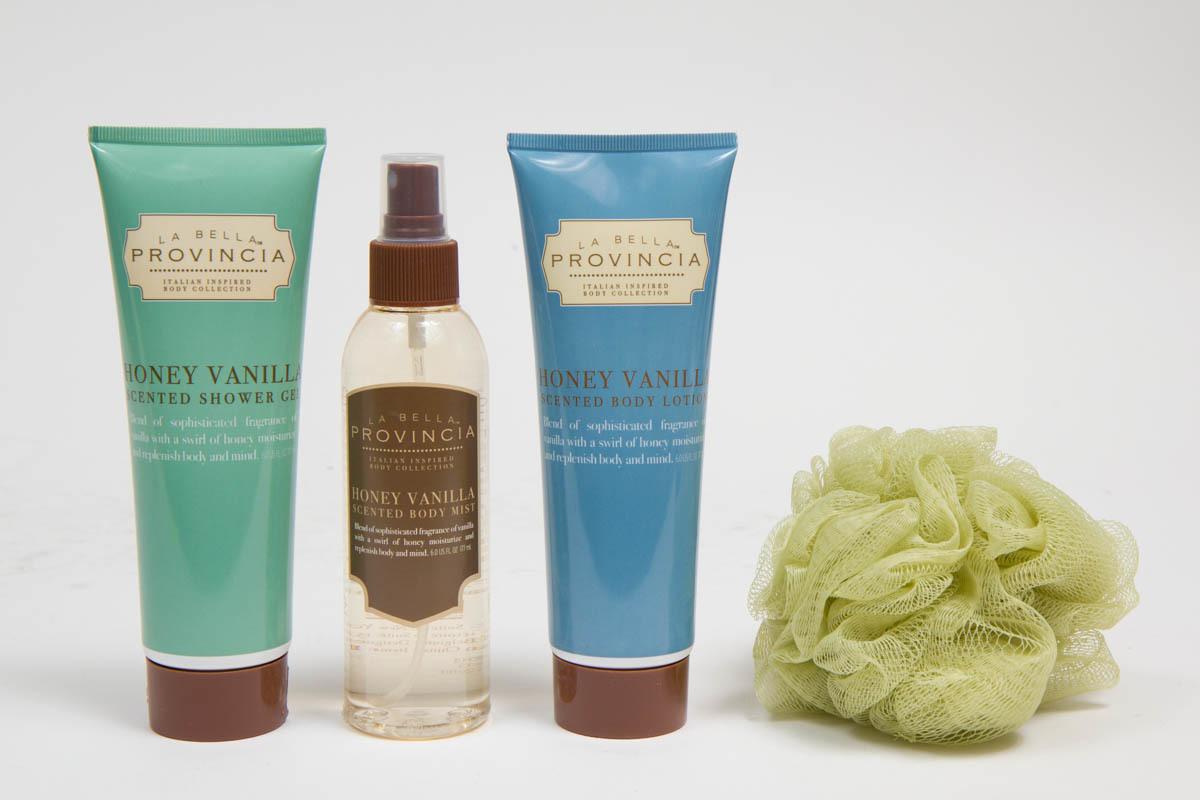 Honey Vanilla Body Care Set