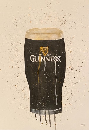 Selling: Guiness A3 Giclée Print