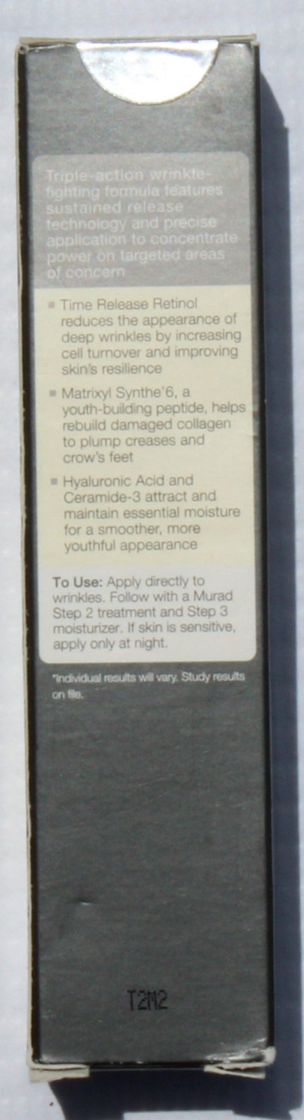 Time Release Retinol Concentrate For Deep Wrinkles