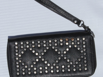 Sell: Black Studded Purse
