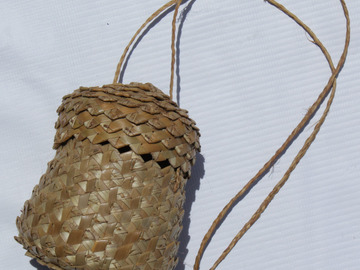 Sell: Handcrafted Straw Basket