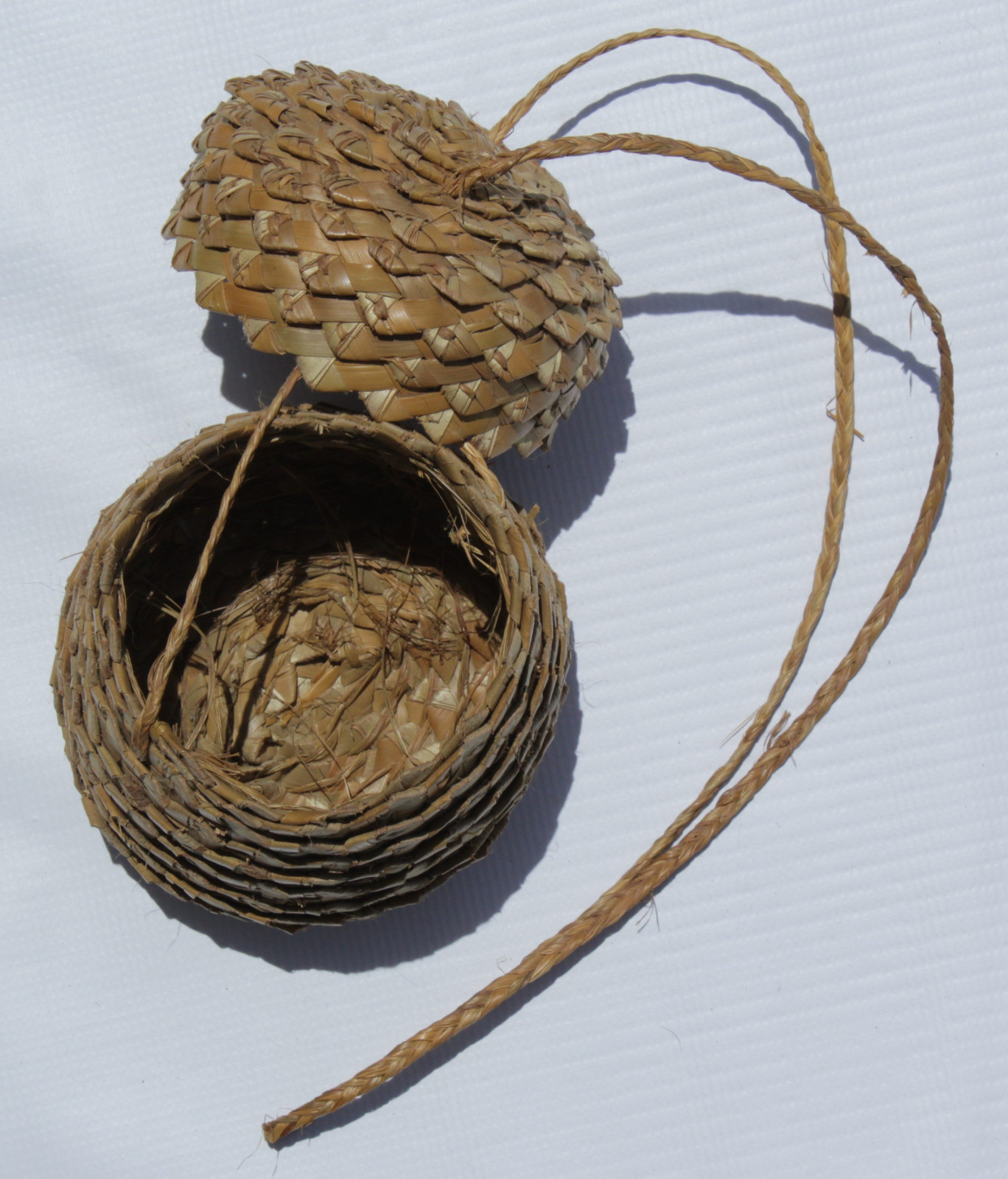 Handcrafted Straw Basket
