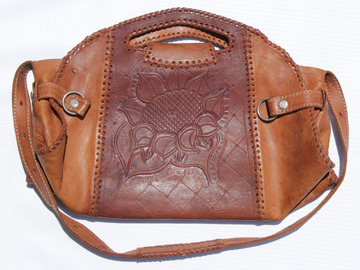 Sell: Two Toned Leather Handbag