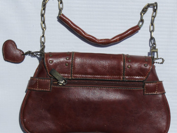 Sell: Dark Red Studded Purse