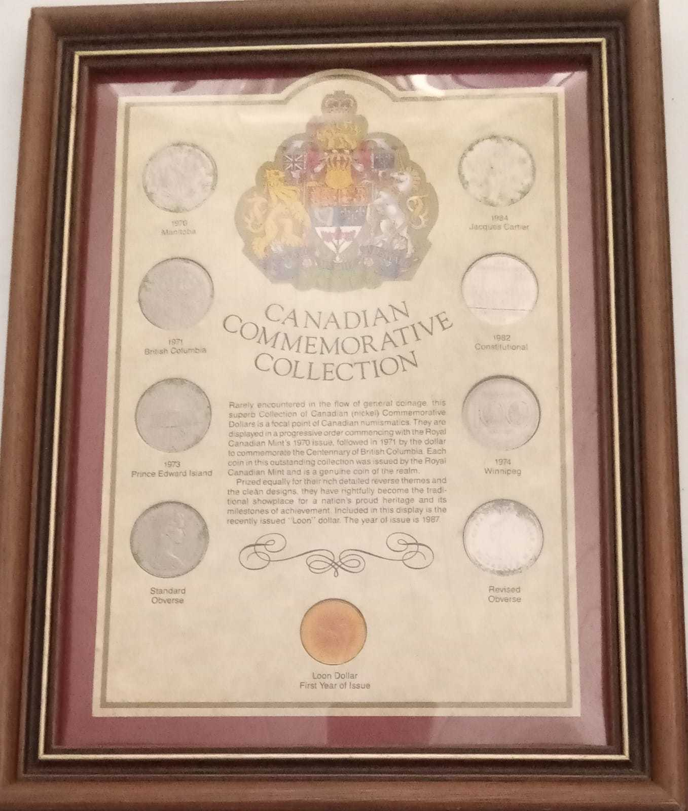 Canadian Commemorative Collections Sets