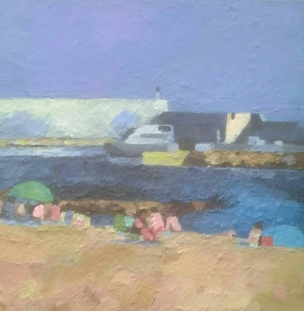 Selling: Harbour, early evening