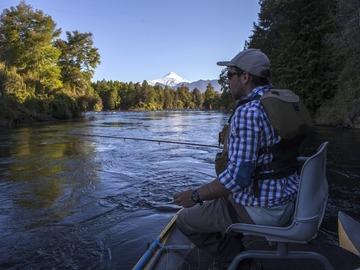 Experiencia: Pesca deportiva río Liucura, Pucón.