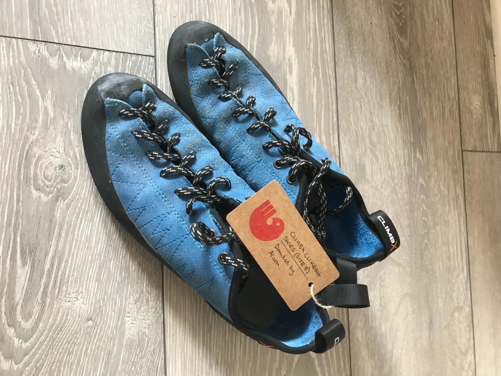 Climb X Climbing Shoe (size 8)