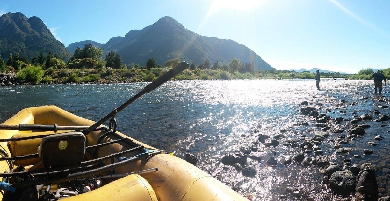 Pesca deportiva río Liucura, Pucón.