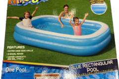 Sell: 8 foot 7 inches Rectangular pool