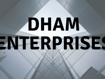 Sell: Need Investment for DHAM ENTERPRISES LLP