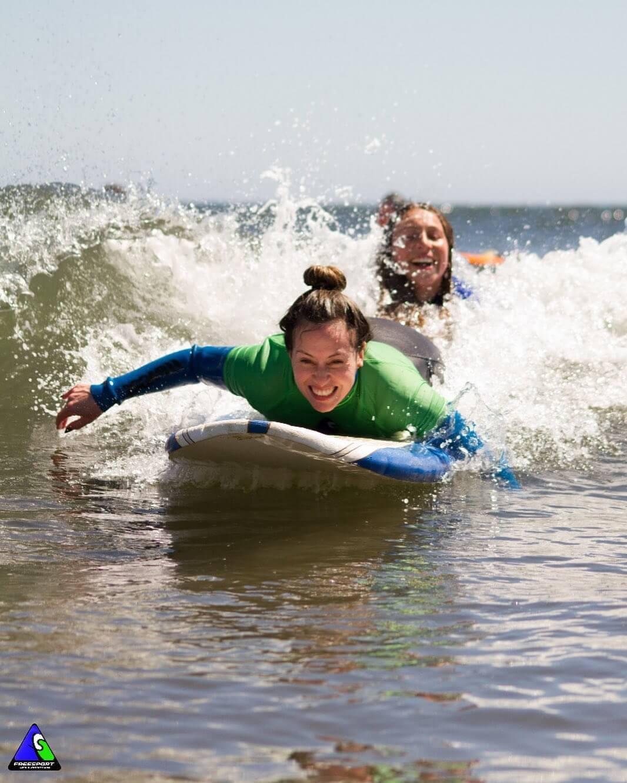 Curso personalizado de Surf, Playa la Boca, Concón