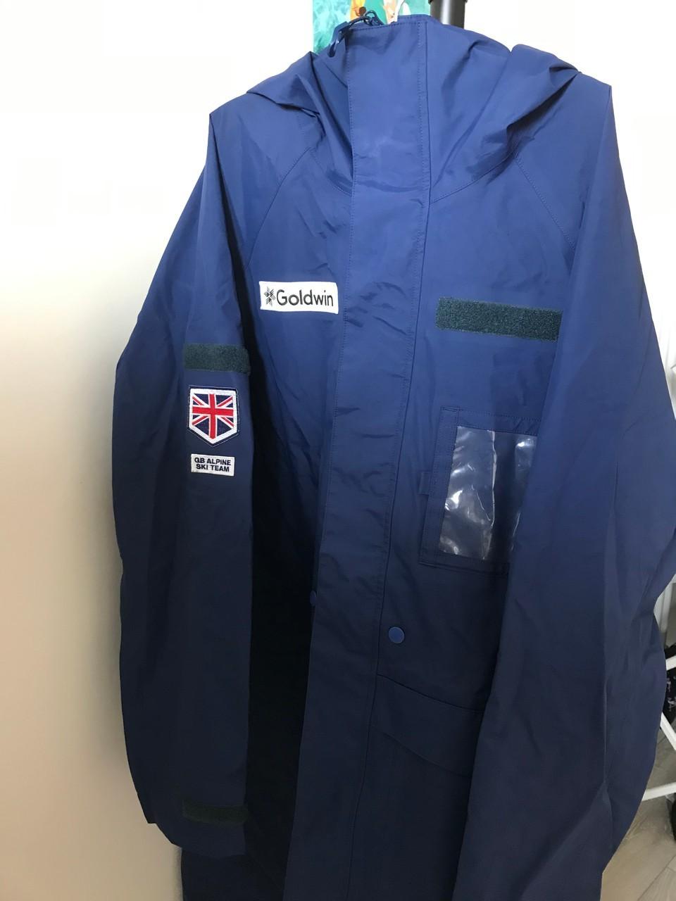 Goldwin Team GB Long Rain Jacket