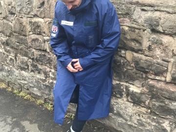 Selling: Goldwin Team GB Long Rain Jacket