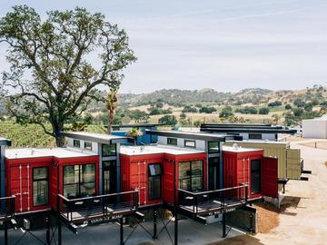 Renting out: Containers stay