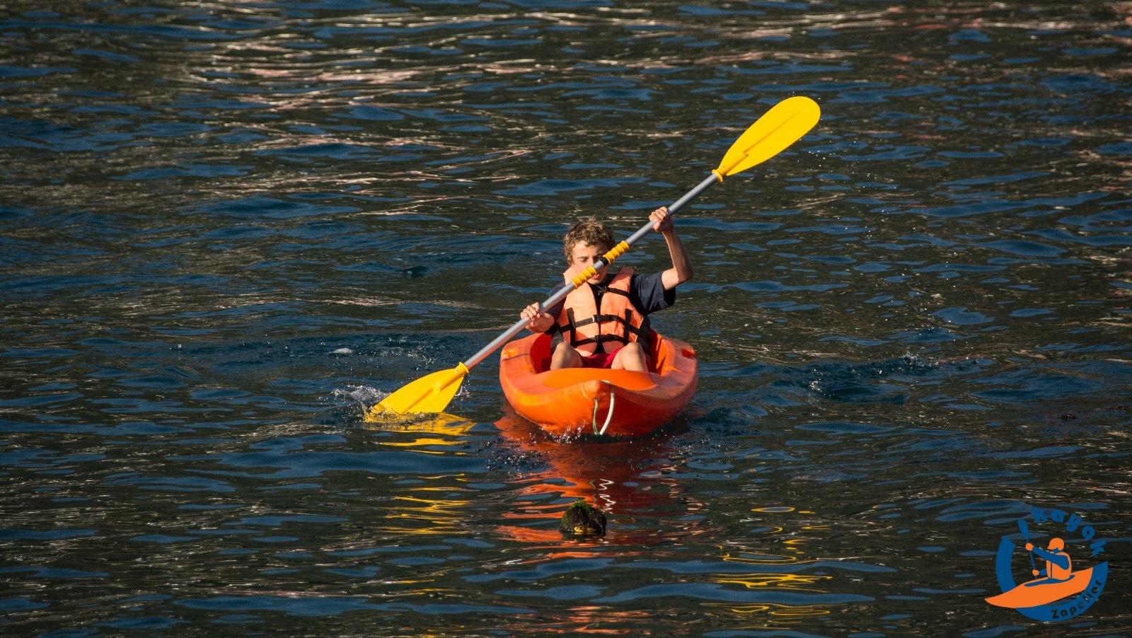 Kayak Single en la Bahía Zapallar