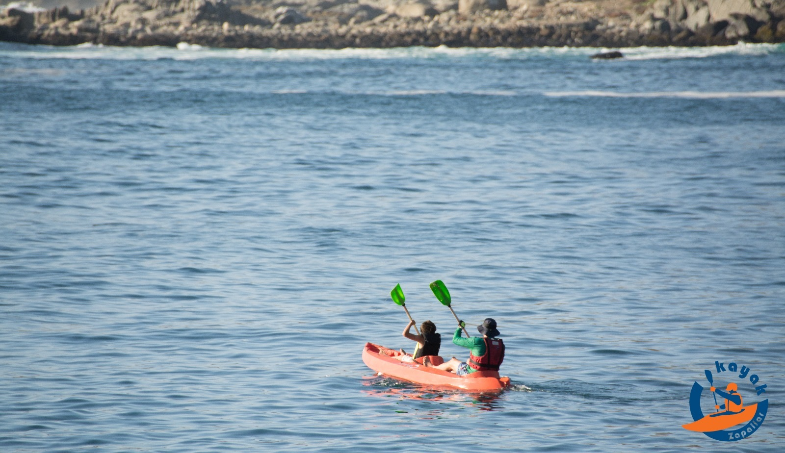 Kayak Doble en la Bahía Zapallar