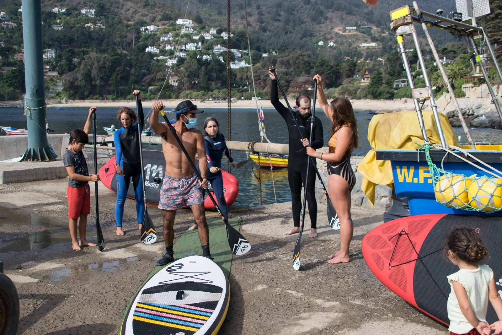 Clases de SUP (Stand Up Paddle) Zapallar