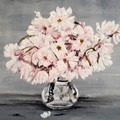 Selling: Cherry Blossoms in Glass Vase