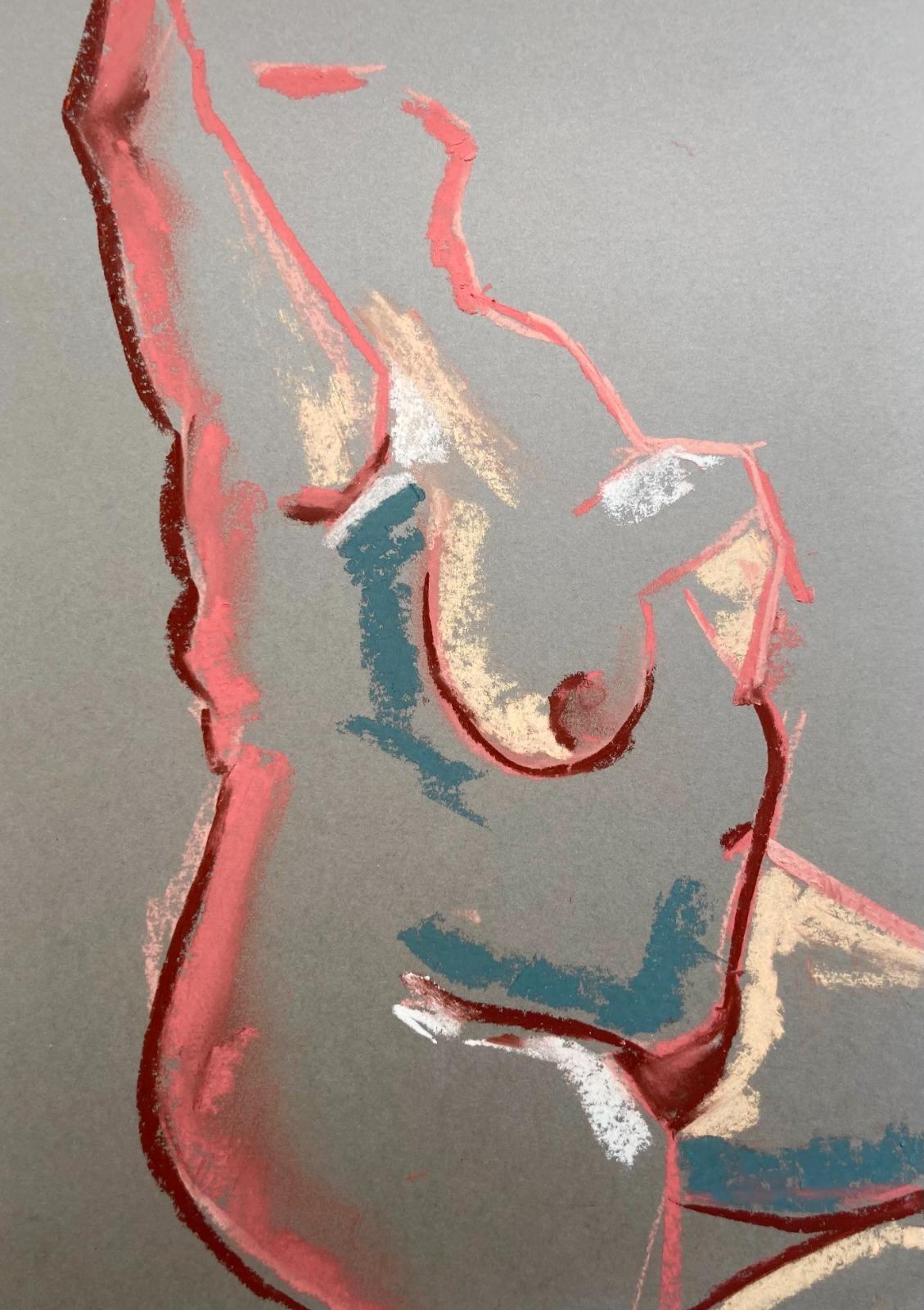Figure in Pastel