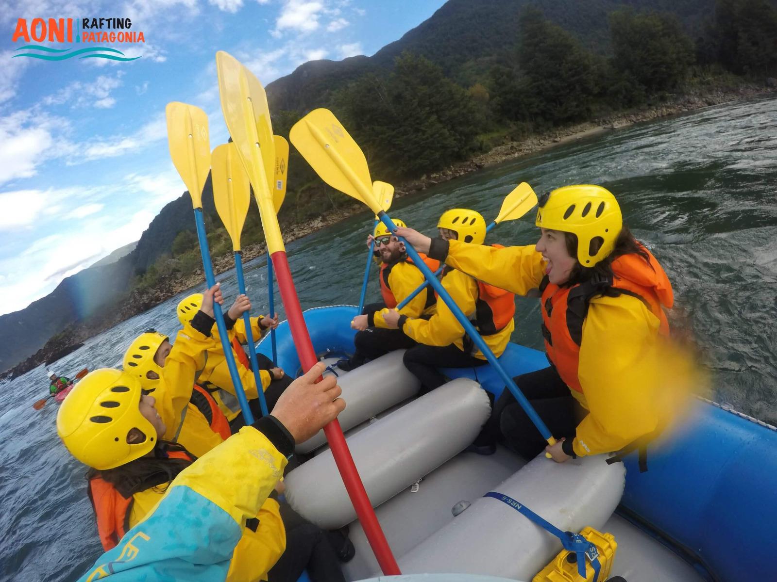 Rafting en Río Blanco y río Aysén, Patagonia