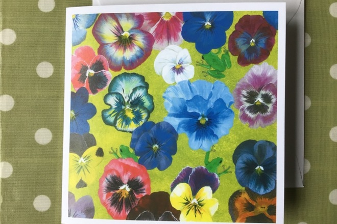 Selling: Pansies and Froglets