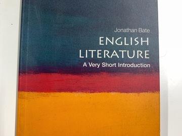 Sell: English Literature