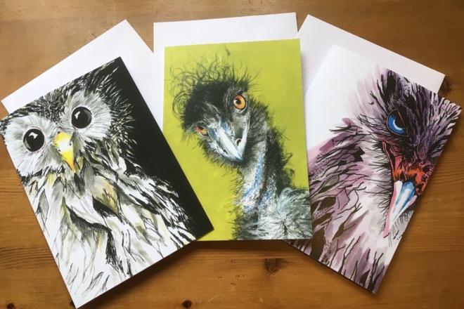 Selling: Bird card bundle