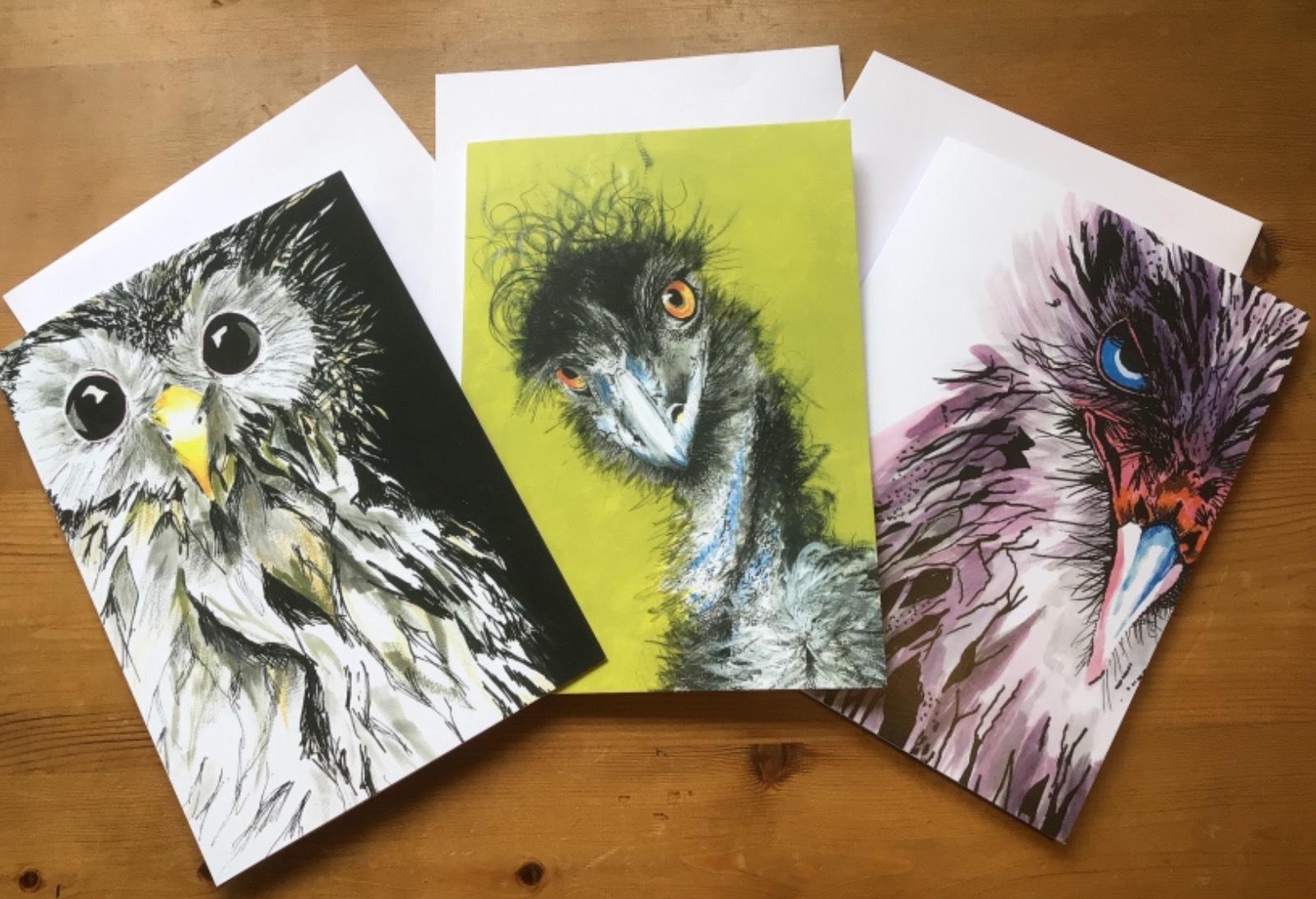 Bird card bundle