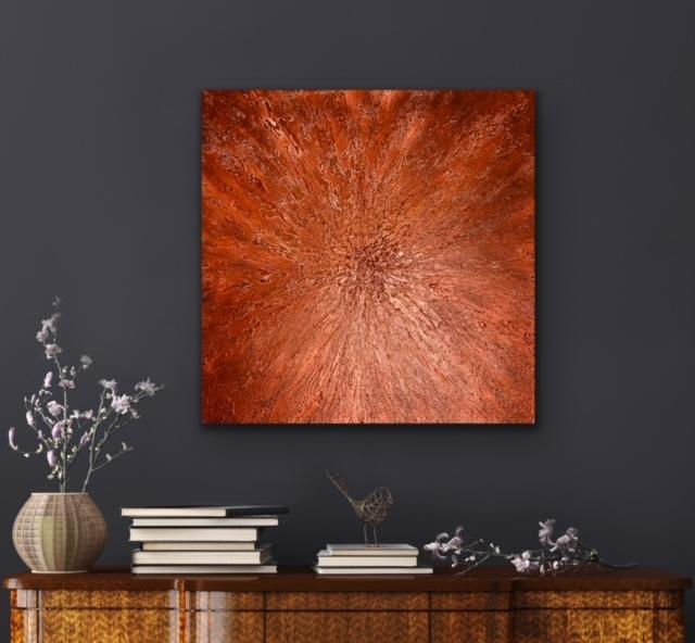 """""""An Intriguing Heart"""" Original Abstract Art"""