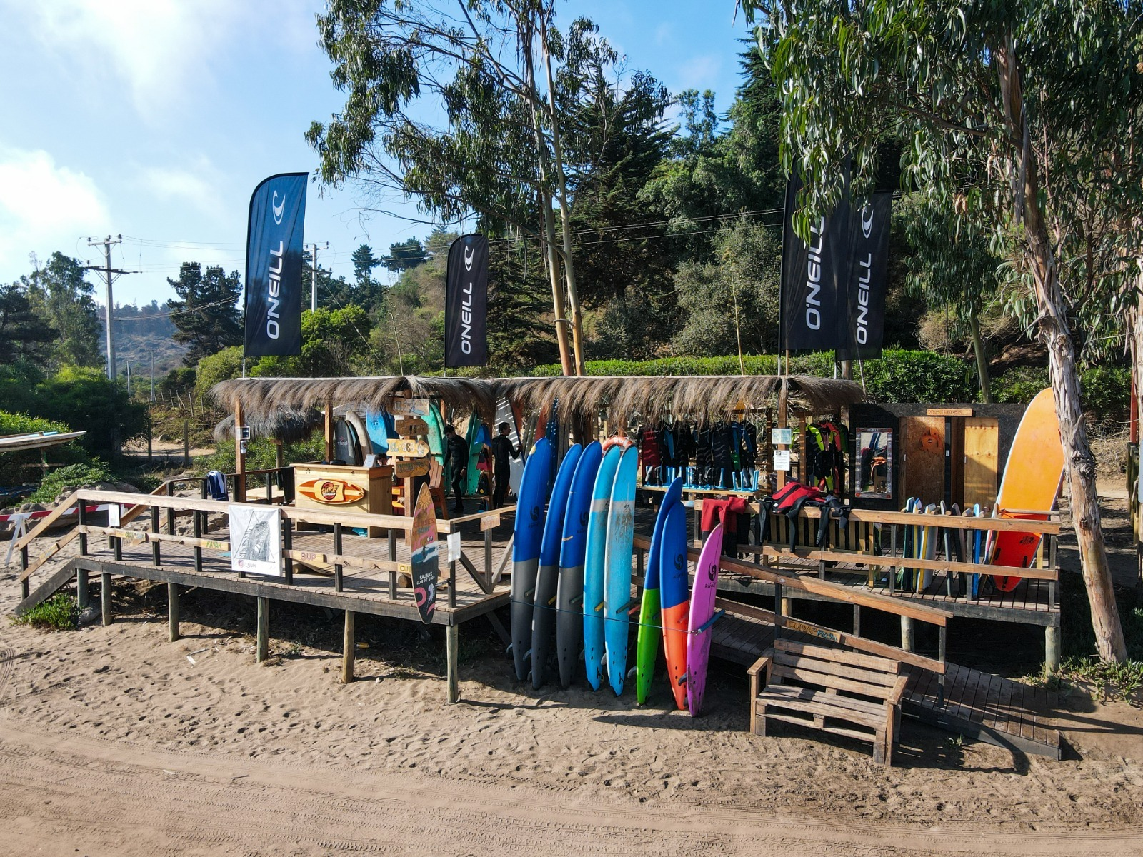 Clase de Surf en Salinas de Pullally