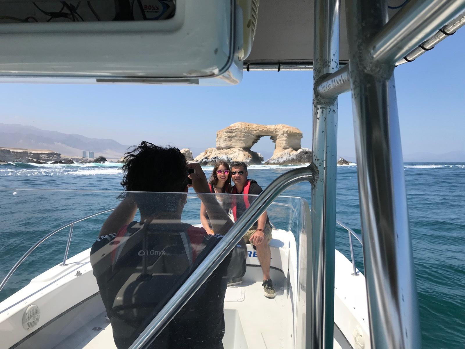 Paseo privado en Lancha a la Portada de Antofagasta