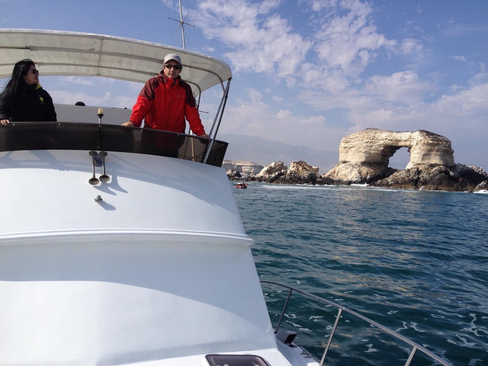 Tour en Yate a la Portada de Antofagasta
