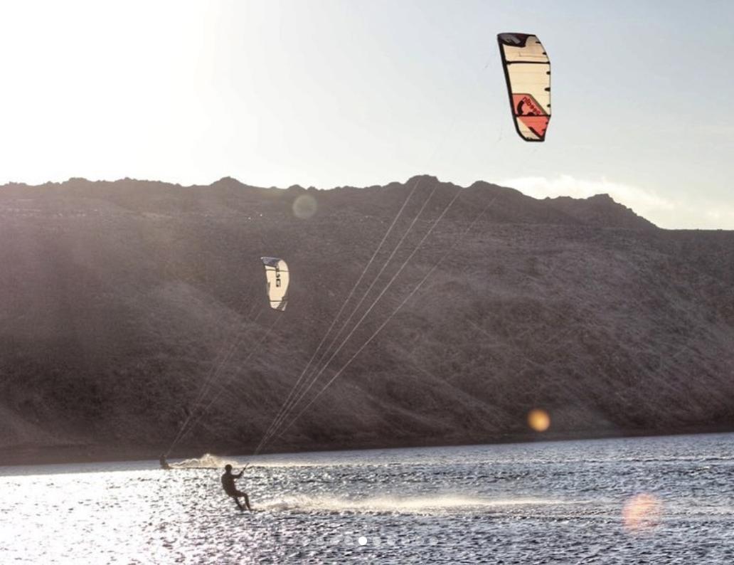 Clase de Kitesurf en Antofagasta