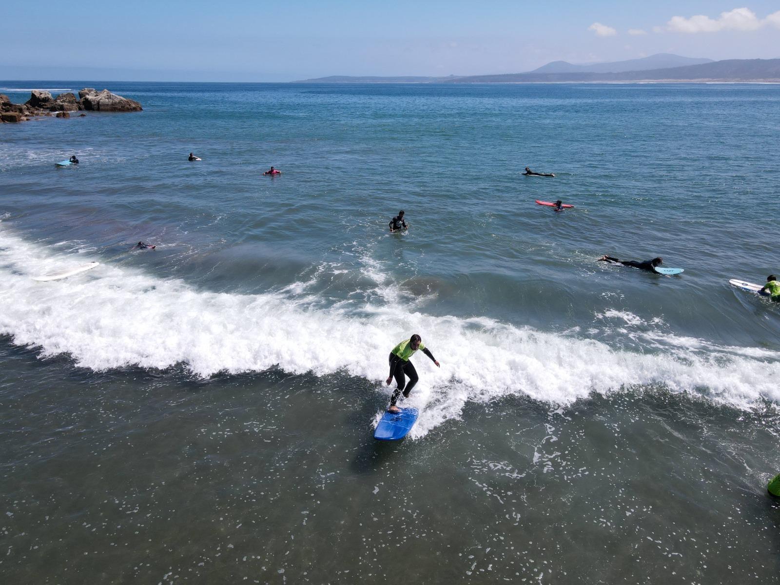 Clase de Surf Avanzada