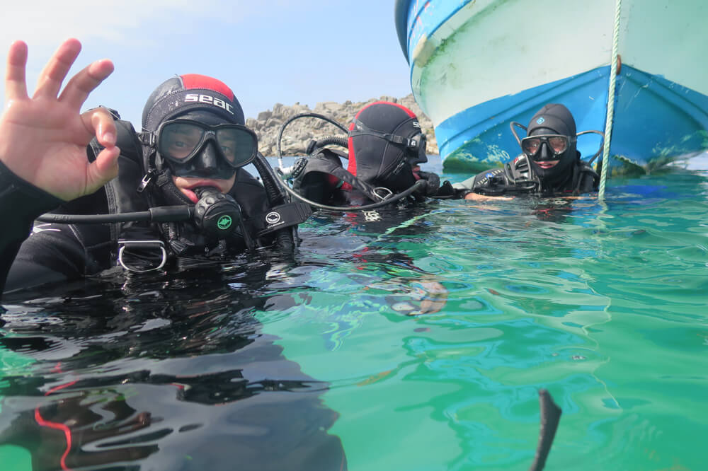 Bautismo Submarino en Isla Damas