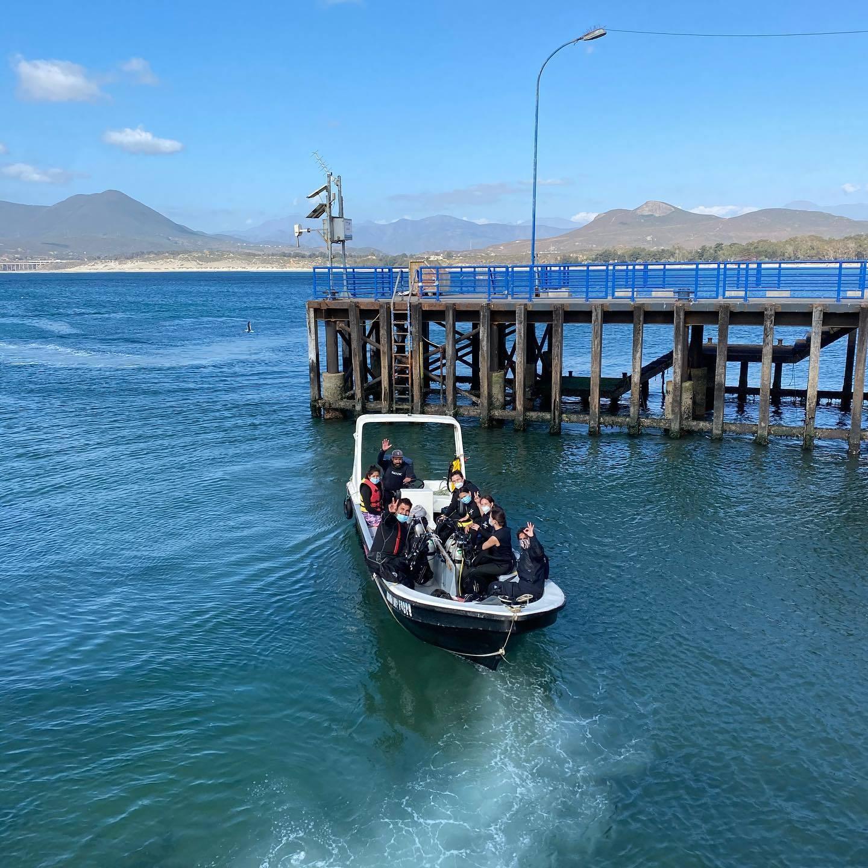 Bautizo submarino en Pichidangui