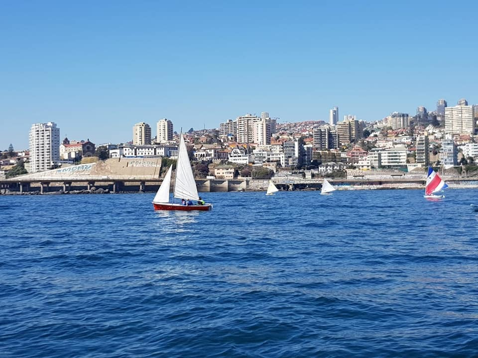Curso Patrón deportivo de Bahía en Valparaíso