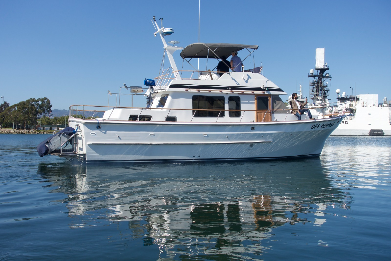 41' Trawler Off Course for Dockside events, charters and more