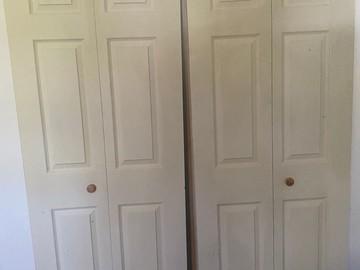 Sell: 30x80 Wood Bifold Doors (pair)