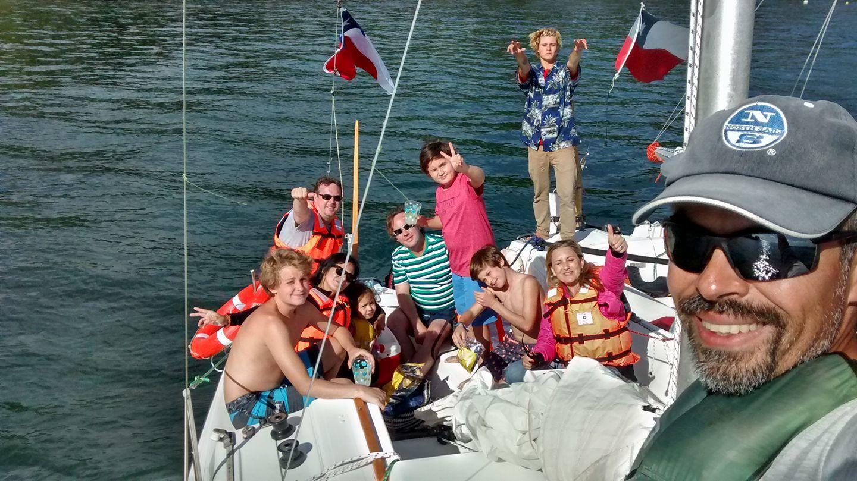 Flotada Familiar en el Río Licura, Pucón