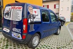 Umzugshelfer mit Transporter: 24Kurier für Kleintransporte
