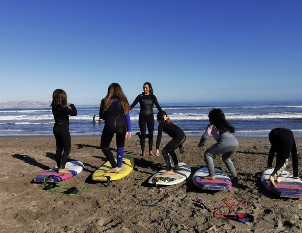 Clase de Surf personalizada en La Serena